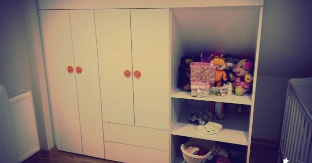 çocuk bebek odası dolabı