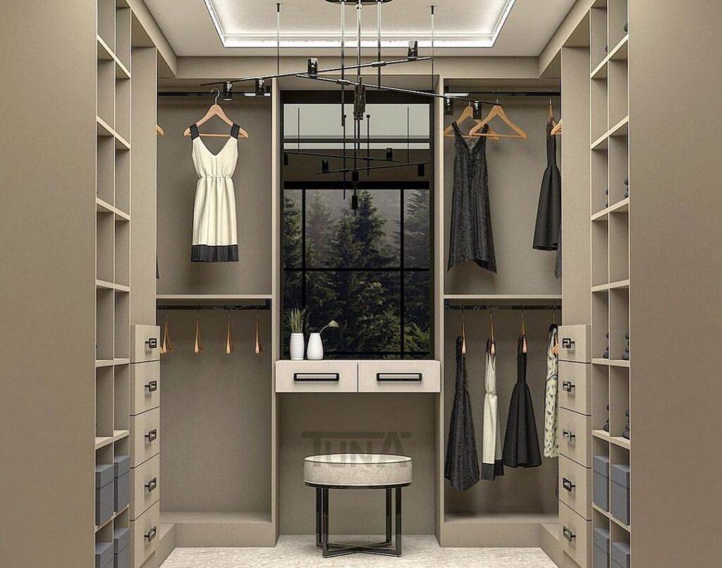 Giyinme Odası Açık Sistem